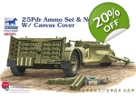 Bronco 25Pdr Ammo Set & No. 27 Limber w/ Canvas ..