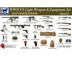 Bronco WWII US Light Weapons & Equipment Set 1/35