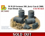 Classy Hobby WWII German 20L Jerry Can & 200L Fu..