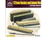 Diopark 122mm Rocket and Ammo Box 1/35