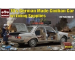 Diopark 70's German Made Civilian Car with Livin..