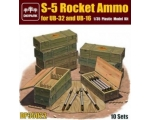 Diopark S-5 Rocket Ammo For UB-32 & UB-16 1/35