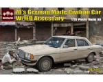 Diopark 70's German Made Civilian Car W/IED Acce..