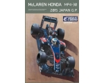 Ebbro McLaren Honda MP4-30 Japan GP 1/20