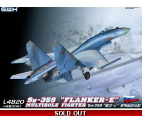 Great Wall Hobby Su-35S Flanker-E Multirole Fighter 1/48