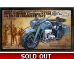 Great Wall Hobby WWII German Zndapp KS750 L3524 ..