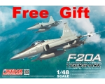Freedom F-20A Tiger Shark 1/48 Come with