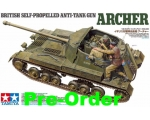 Tamiya British Anti Tank Gun Archer–Self Propell..