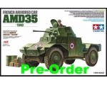 "Tamiya French Armored Car AMD35-1940 1/35 ""Pre-O.."