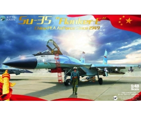 Kitty Hawk China PLA Air Force Su-35 'Flanker-E' Since 1949 1/48
