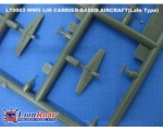 Lion Roar WWII IJN Carrier Aircraft Set III 1/700