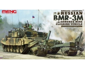 Meng Russian BMR-3M Armoured Mine Cleaning Vehicle 1/35