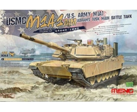 Meng  USMC M1A1 AIM US Army M1A1 TUSK 1/35