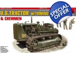 MiniArt U.S TRACTOR with TOWING WINCH & CREWMEN ..