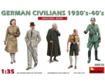 MiniArt German Civilians 1930's-1940's  1/35