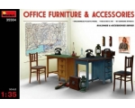 MiniArt Office Furniture & Accessories 1/35