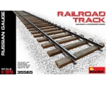 MiniArt  Railroad Track Russian Gauge 1/35