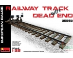 MiniArt Railway Track with Dead End1/35