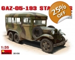MiniArt Russian Bus GAZ 05-193 Staff Bus 1/35