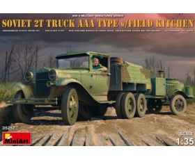 MiniArt  Soviet 2t Truck AAA Type w/Field Kitchen 1/35