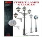 MiniArt Street Lamps & Clocks 1/35