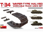 MiniArt T-34 Wafer-Type Halved Workable Track Li..