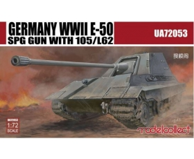 Modelcollect Germany WWII E-50 SPG Gun with 105 L62 1/72