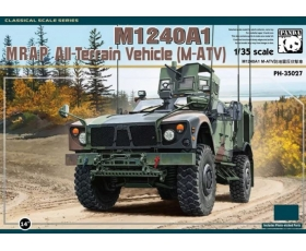 Panda Hobby M1240A1 MRAP All-Terrain Vehicle M-ATV 1/35