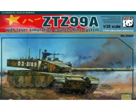 Panda Hobby ZTZ99A w/Laser Simulation Countermine System with crew and metal track 1/35