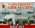 Red Box IJN pilots and ground crew WWII 1/72