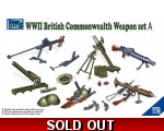 Riich WW2 British & Commonwealth Weapon Set A 1/35