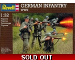 Revell German Infantry WWII 1/32