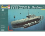 Revell German Submarine Type XXVII B ''Seehund''..