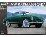 Revell VW Karmann Ghia Coupe 1/16