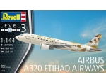 Revell Airbus A320 Etihad Airways 1/144