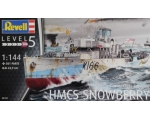 Revell Flower Class Corvette HMCS SNOWBERRY 1/144