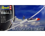 Revell Gliderplane Duo Discus & Engine 1/32