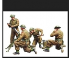 Riich Model British 3 Inch Mortar Team 4Figures ..