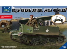Riich Models British Airborne Universal Carrier and welbike