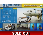 Skunk Moedels MD-3 NAVY tractor with 3 figures 1..