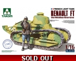 Takom French Light Tank Renault FT Char Mitraill..