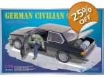 TAKOM German Civilian Car with Gas Rockets 1/35