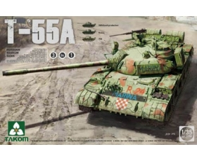 Takom Russian Medium Tank T-55 A [3in1]  1/35