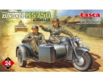 Tasca GERMAN MOTORCYCLE ZUNDAPP KS750 w/SIDECAR ..