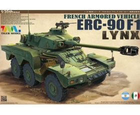 Tiger Model French Armored Vehicle ERC-90F1 Lynx