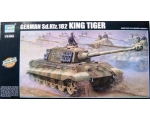 Trumpeter German Kingtiger 2 in 1 Henschel Turre..