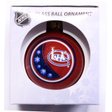 Montreal Canadiens Glass Ball Ornament