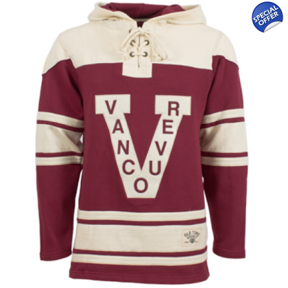 Vancouver Millionaires Old Time Hockey  NHL Jersey Home Lace