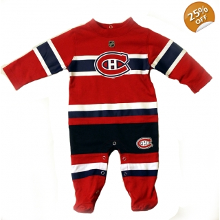 Montreal Canadiens Reebok Baby Sleeper..