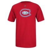 Reebok Montreal Canadiens Red Logo T-S..